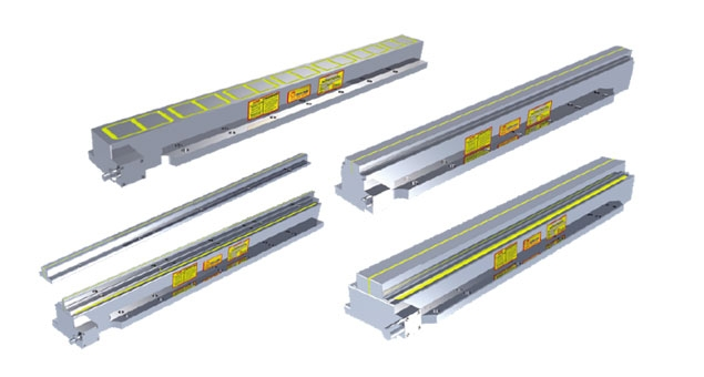 Used on Linear Guideway high precision or high accuracy oblong shape workpiece drilling, grinding machining…etc.