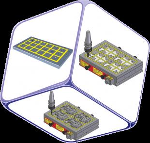 <span>Option Accessories</span><span><span>Induction Sub Plate </span>EEPM-ISP Series</span>