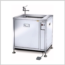 After polishing and cleaning equipment(Powerful bubble wash machine)