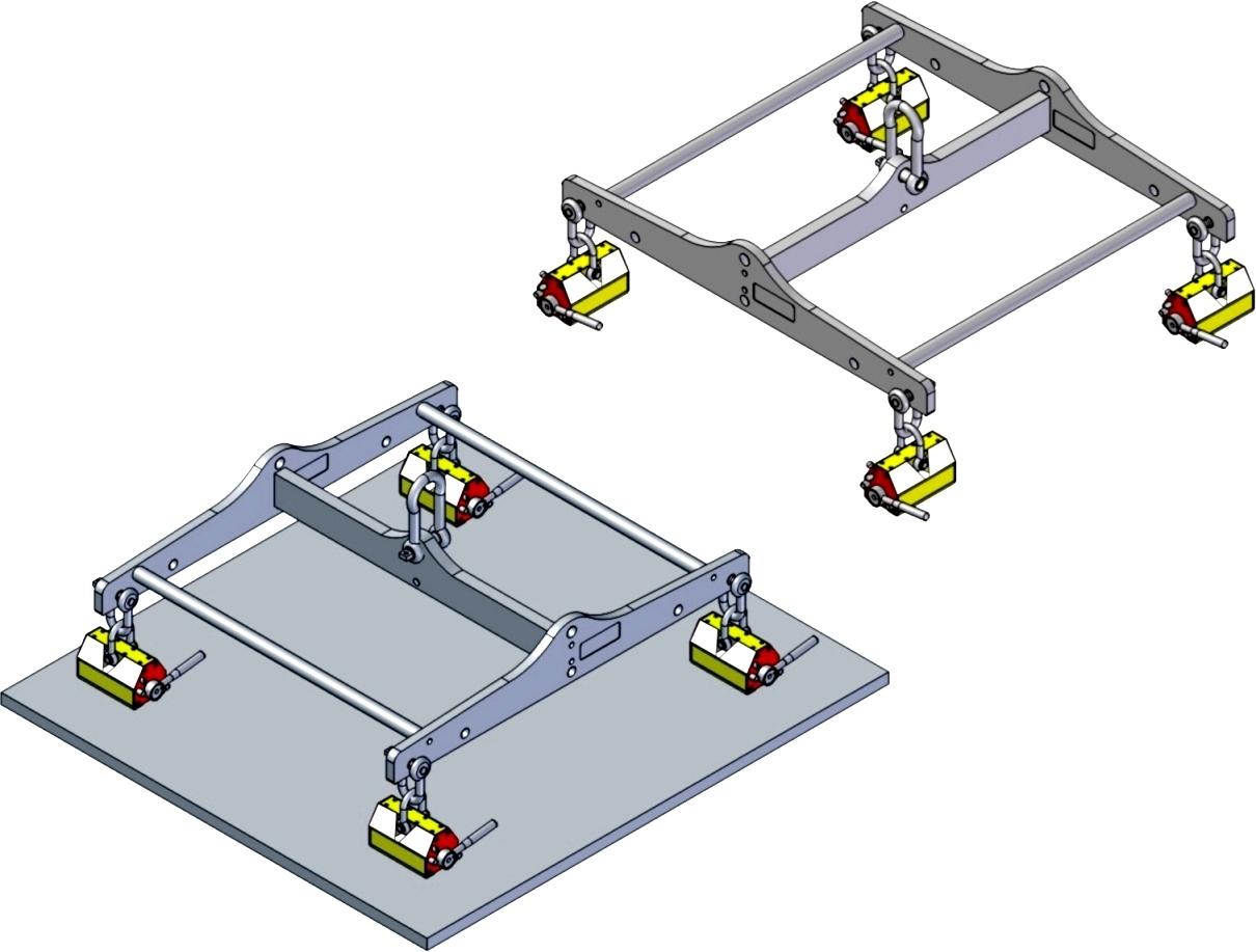 <span>開關式永久磁性吊盤</span><span>ELM-H 系列 </span>